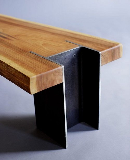 Mild Steel Coffee Table: Stainless And Mild Steel Fabrication