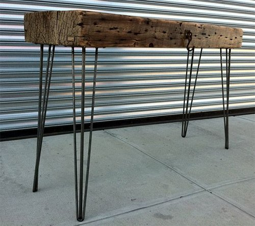 Fabricated Steel Coffee Table: Stainless And Mild Steel Fabrication
